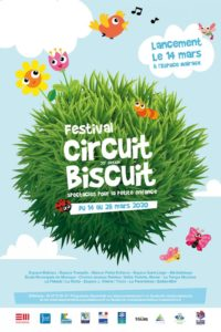 Affiche Festival Circuit biscuit 2020